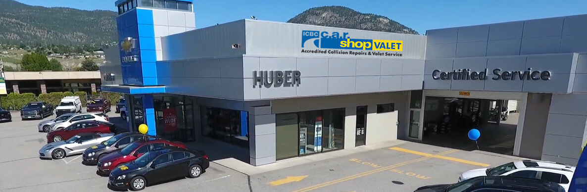 Auto Body Repair Shop Penticton Bc Huber Bannister Chevrolet